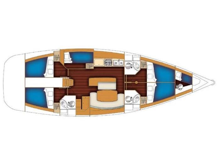 Cyclades 50.5 (Barnie) Plan image - 18