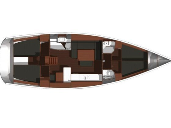 Dufour 445 Grand Large (Virtuoso) Plan image - 8