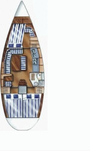 Dufour 36 Classic (Pia) Plan image - 3