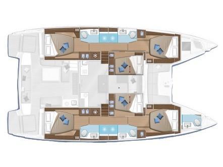 Lagoon 50 (Lag501) Plan image - 16
