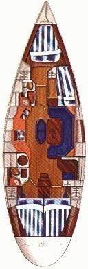 Dufour 45 (Choice) Plan image - 8