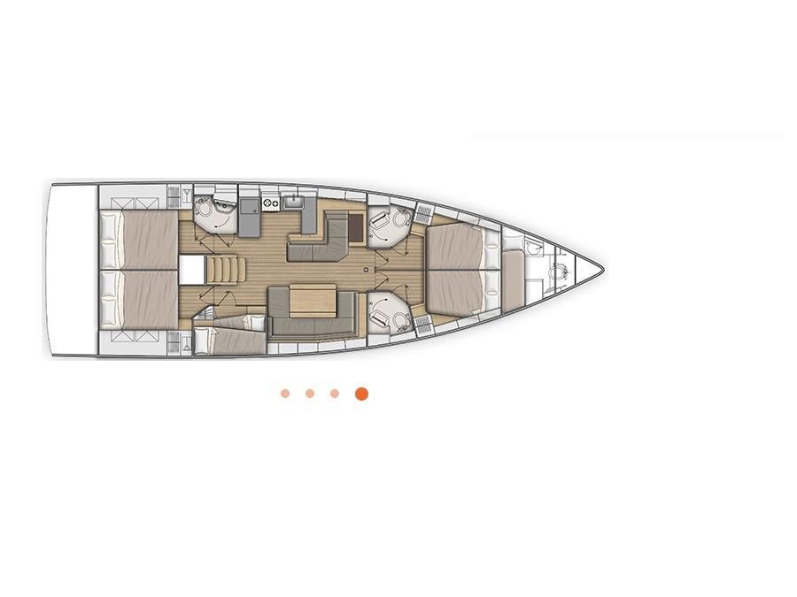 Oceanis 51.1_2019 (SY_2026) Plan image - 2