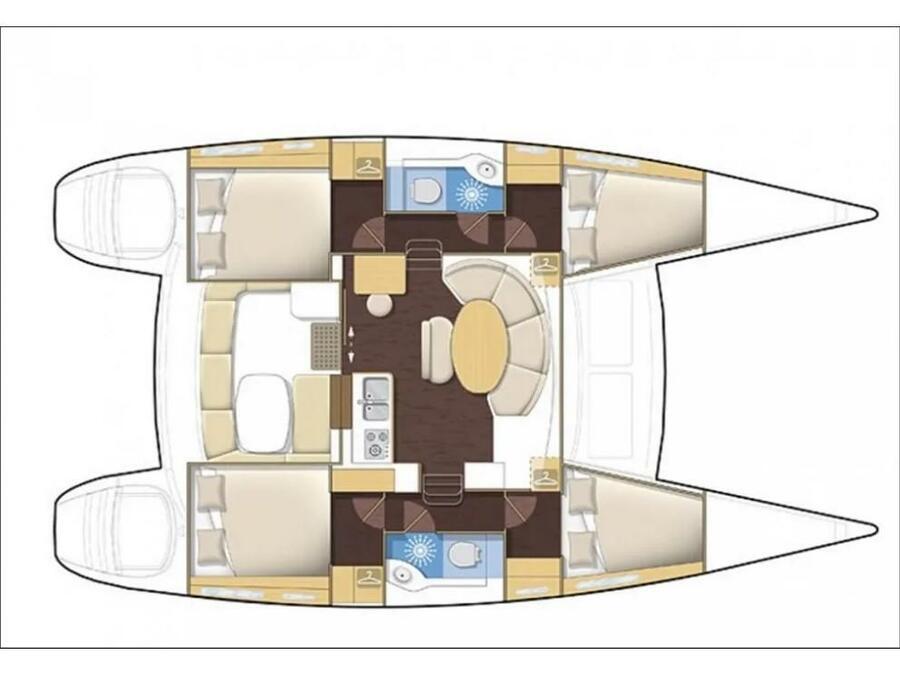 Lagoon 380_2014 (SY_2027) Plan image - 13