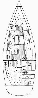 Elan 31 Performance (Sailway Tres) Plan image - 19