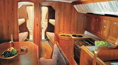 Hanse 415 (Marina Spirit Two) Interior image - 12