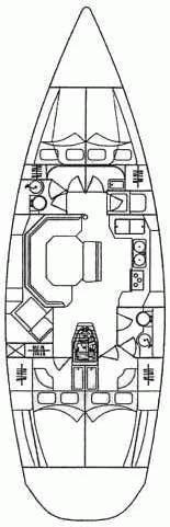 Elan 45 (Constanze) Plan image - 2