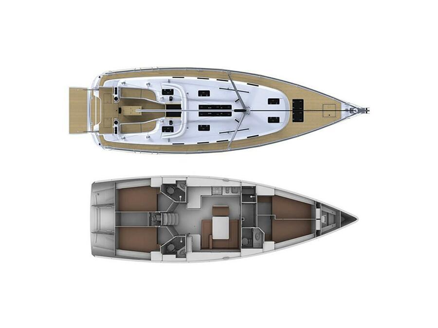 Bavaria Cruiser 45  (Nireas) Plan image - 10