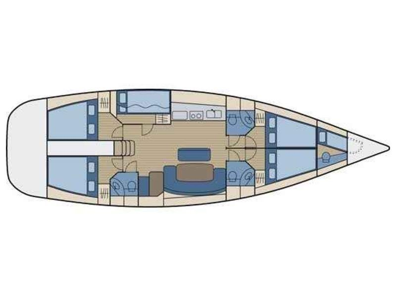 Cyclades 50.5 (Fairy) Plan image - 6