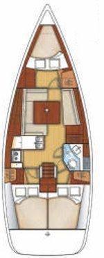 Beneteau 37 (SMARAGDA) Plan image - 5