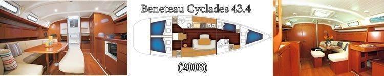 Benetau Cyclades 43,4 (ATHENA ) Main image - 7