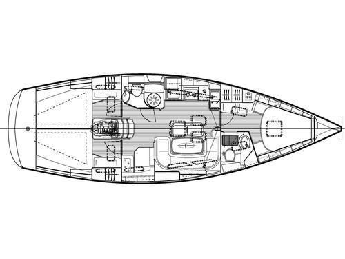 Bavaria 40 C (MH 23) Plan image - 2