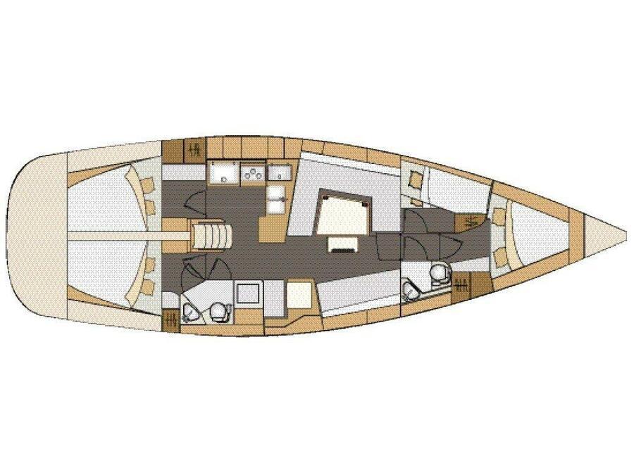 Elan 45 Impression (TWILIGHT ) Plan image - 5
