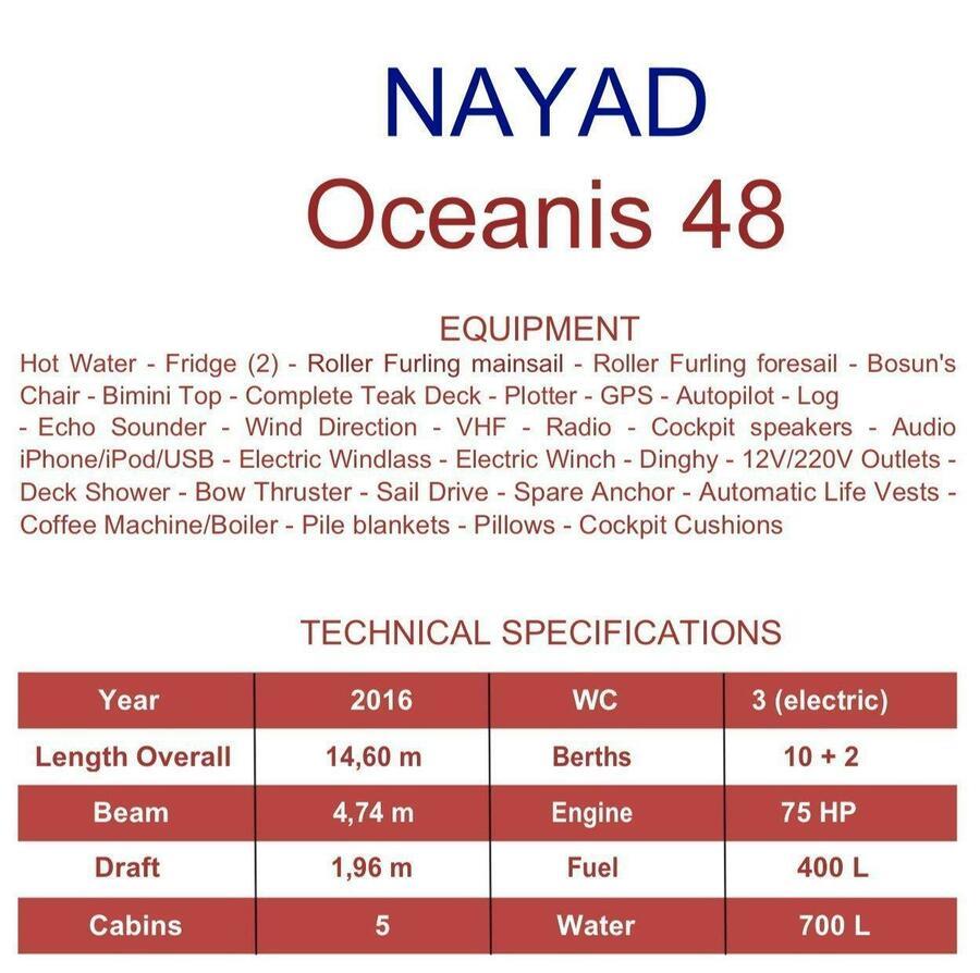 Oceanis 48 (Nayad)  - 1