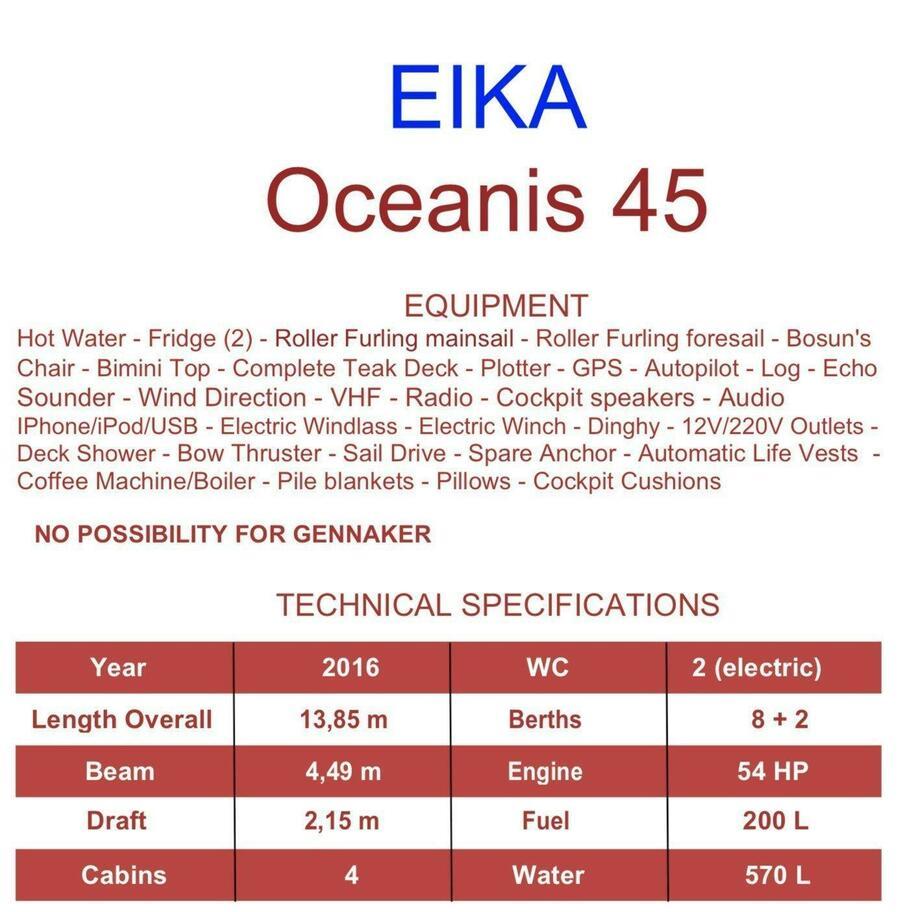 Oceanis 45 (Eika)  - 3