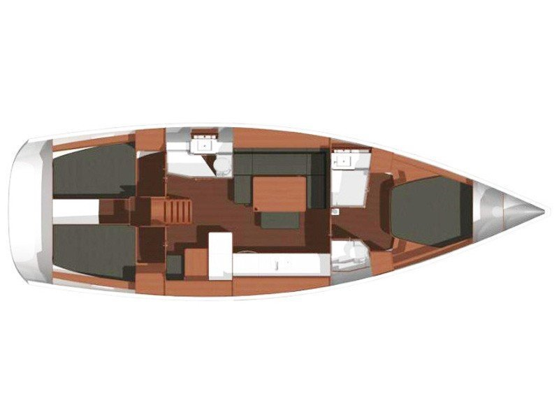 Dufour 450 Owner version (My Live) Plan image - 1