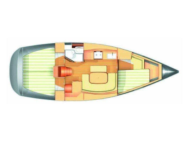 Dufour 365 (Sea Bird) Plan image - 4