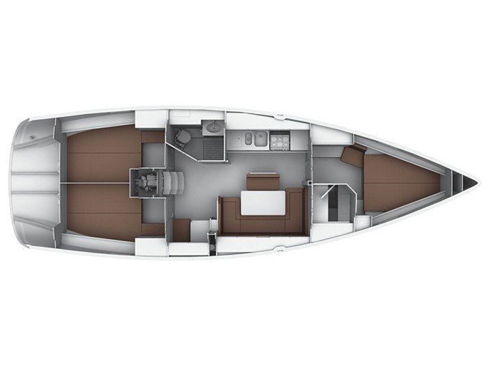 Bavaria  Cruiser 40 (Capitana II) Interior image - 1