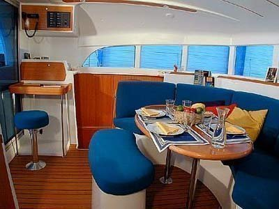Lagoon 380 (Why not) Interior image - 7