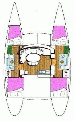 Lagoon 380 (Why not) Plan image - 5