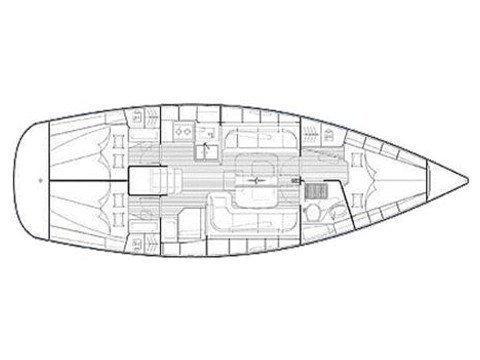 Bavaria 38 Cruiser (Nasa) Plan image - 1