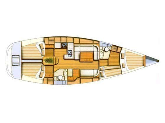 Dufour 44 Performance (Mallorca) Plan image - 1