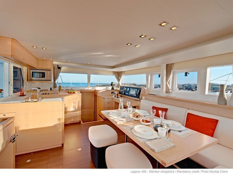 Lagoon 450 F Luxury (BRIGHT MOON) Interior image - 16
