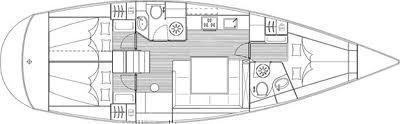 Bavaria 43 Cruiser (Sea Party) Plan image - 2