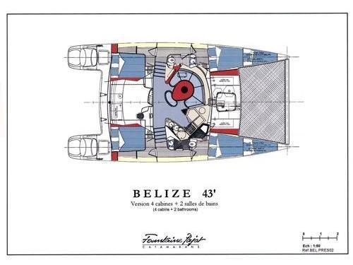 Belize 43 (Artemis) Interior image - 2