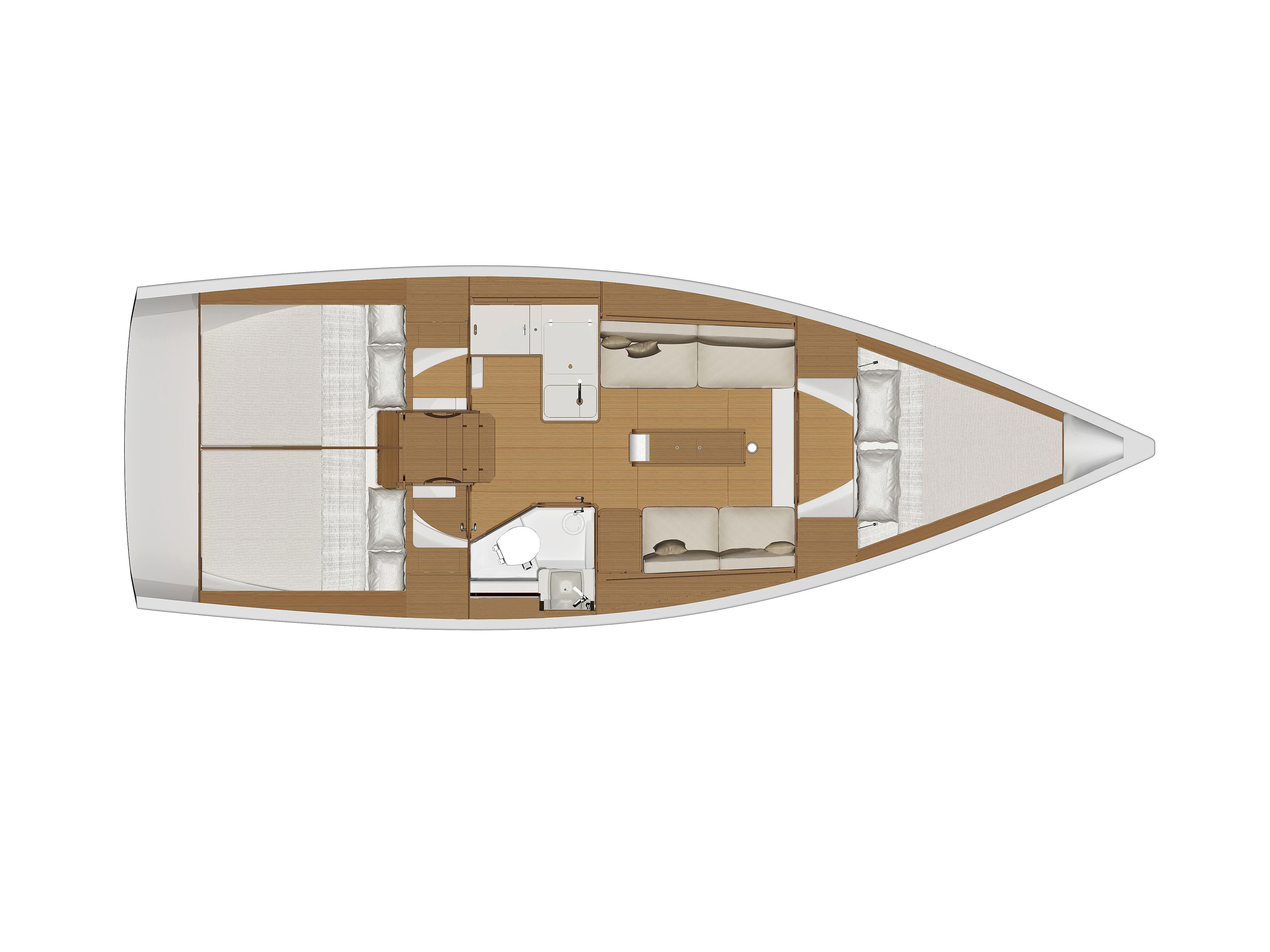 Dufour 360 GL '18 (Lily) Plan image - 2