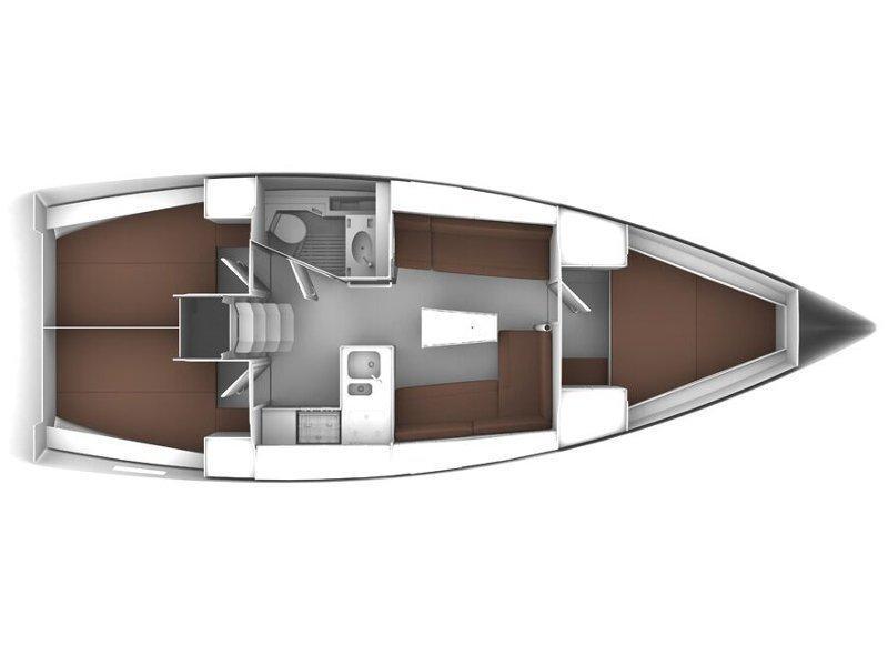 Bavaria Cruiser 37 (Luka) Plan image - 2