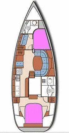 Oceanis 40 (Snooze) Plan image - 13