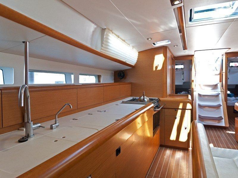 Sun Odyssey 509 (Sky Kiss) interior - 10