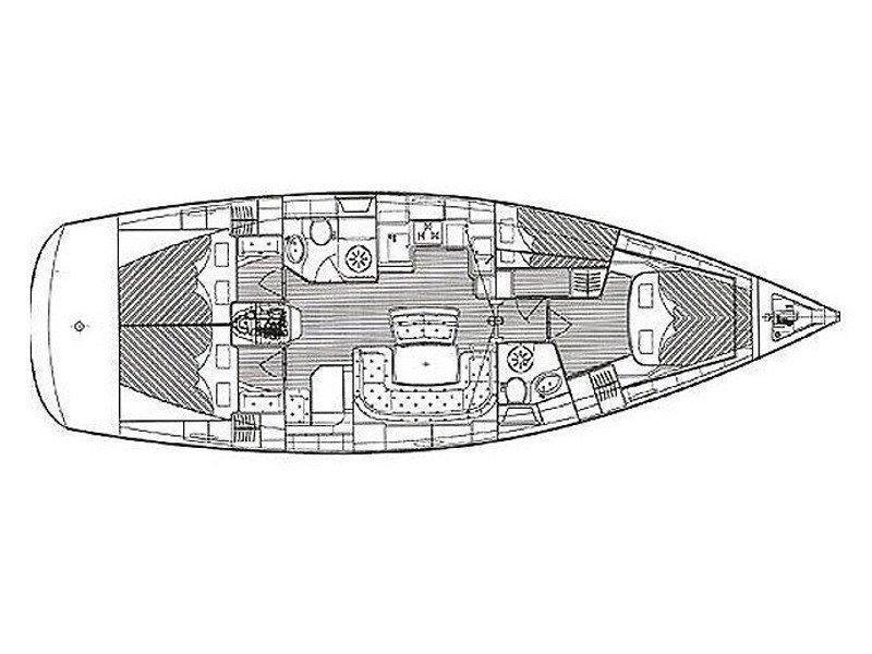 Bavaria 46 Cruiser (Polykandros) Plan image - 2