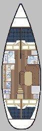 Oceanis 430 () Plan image - 2