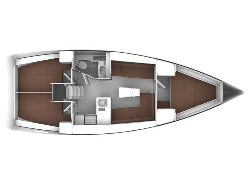 Bavaria Cruiser 37 (Maci) Plan image - 19