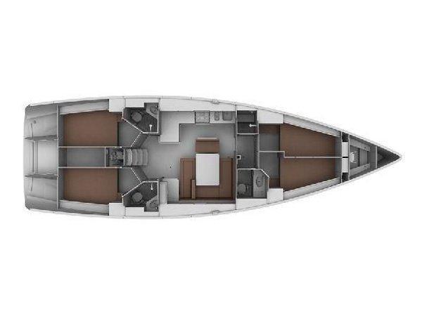 Bavaria 45 Cruiser (Sara Johanna) Plan image - 1