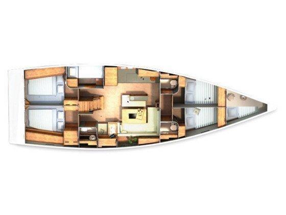 Hanse 505 (5+1cab.) (Amber I) Plan image - 5