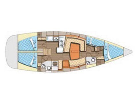 Elan 434 Impression (Aventura) Plan image - 10