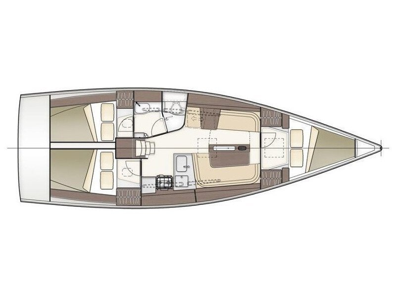 Dehler 38 (Blue Chip) Plan image - 5