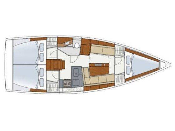 Hanse 345 (Hanse 345 - No Name) Plan image - 7
