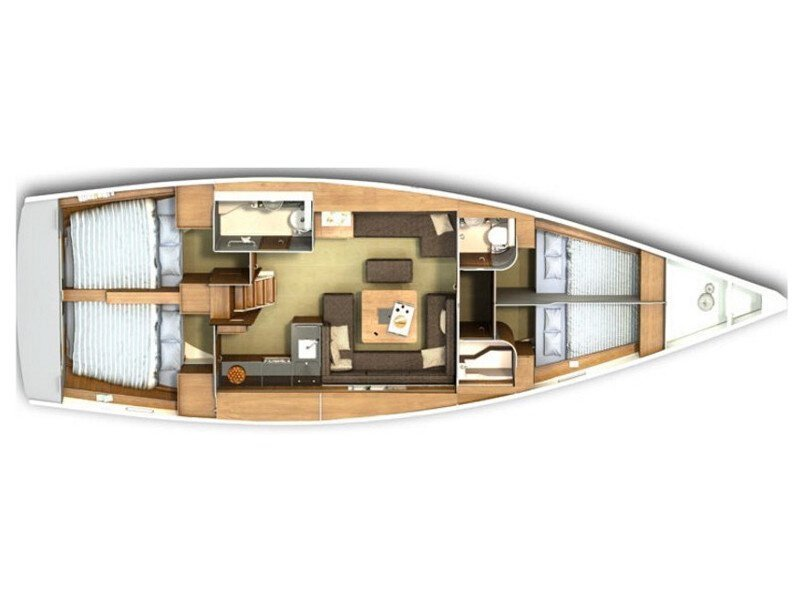 Hanse 445 (Lynn) Plan image - 20