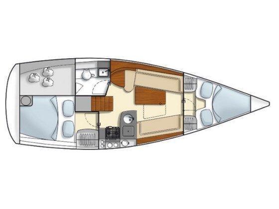 Hanse 325 (Sara) Plan image - 2