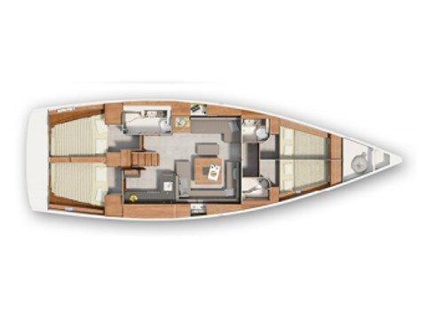 Hanse 455 (Yola) Plan image - 11