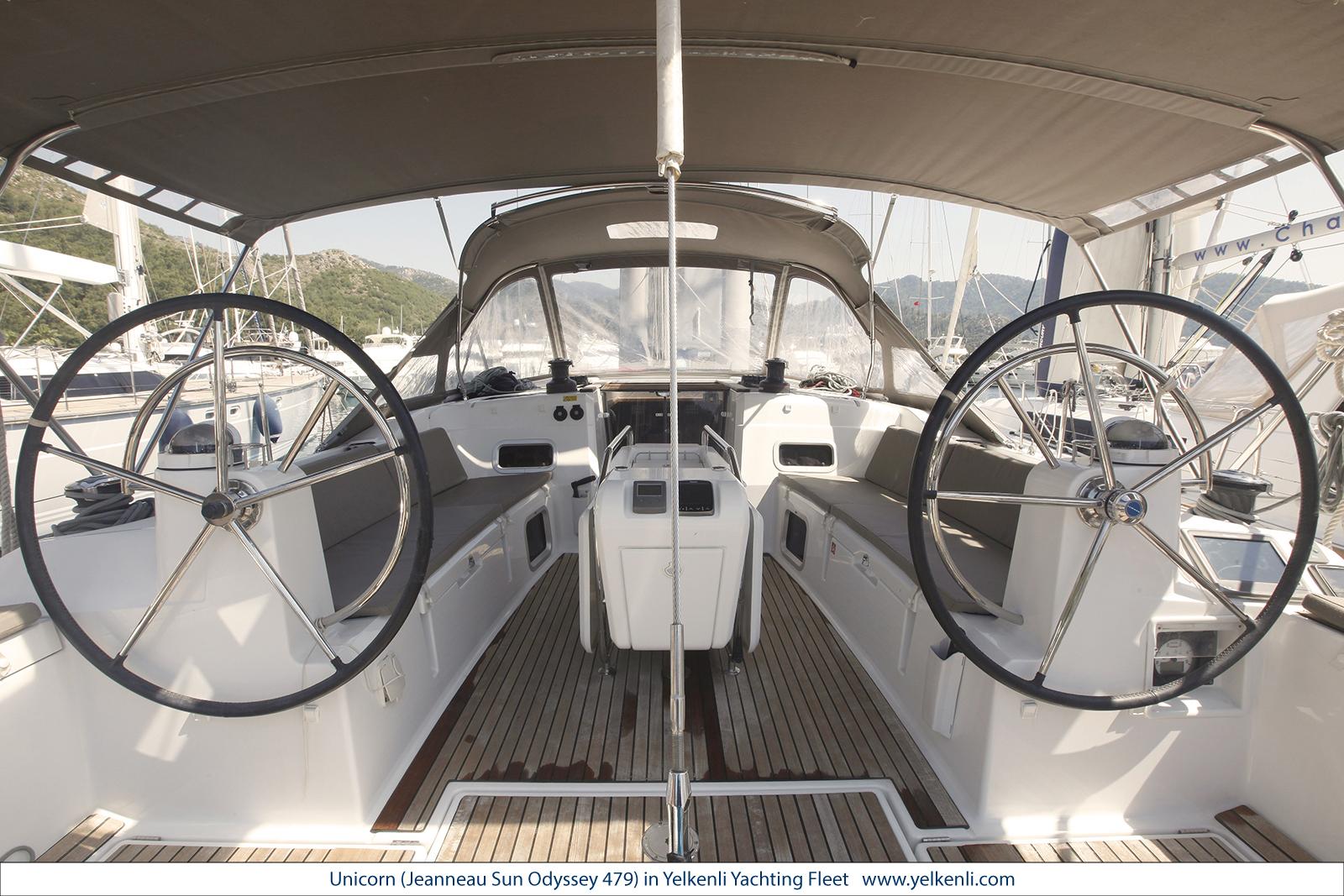 Sun Odyssey 479 (Unicorn) Cockpit - 14