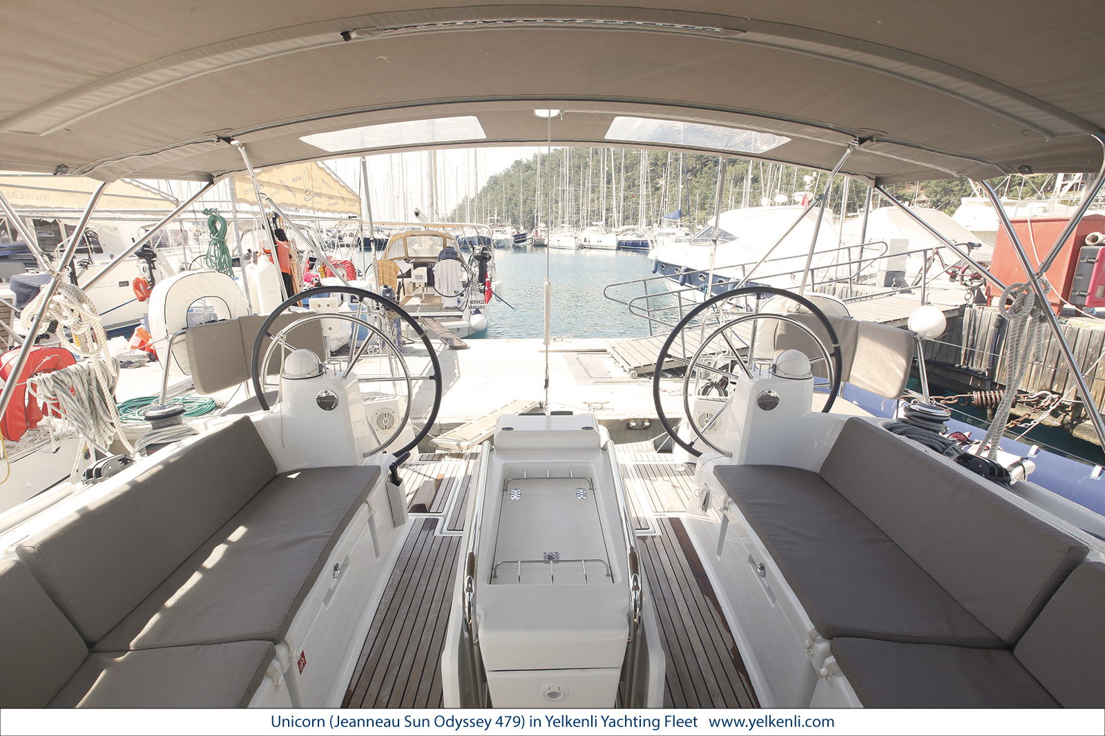 Sun Odyssey 479 (Unicorn) Cockpit - 26