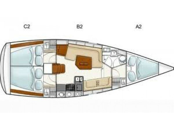 Hanse 385 (JOY) Plan image - 4