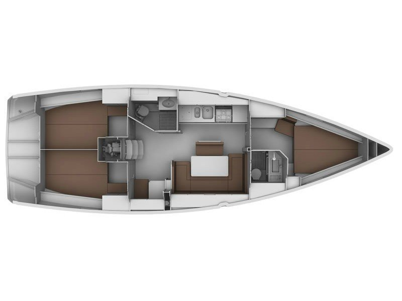 Bavaria Cruiser 40 (Babushka) Plan image - 20