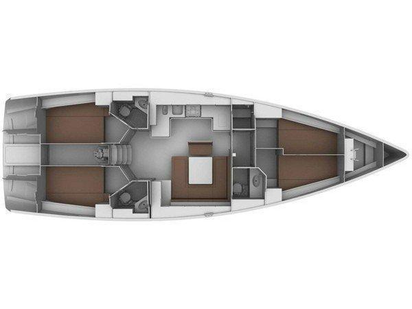 Bavaria Cruiser 45 (Anna Maria) Plan image - 6