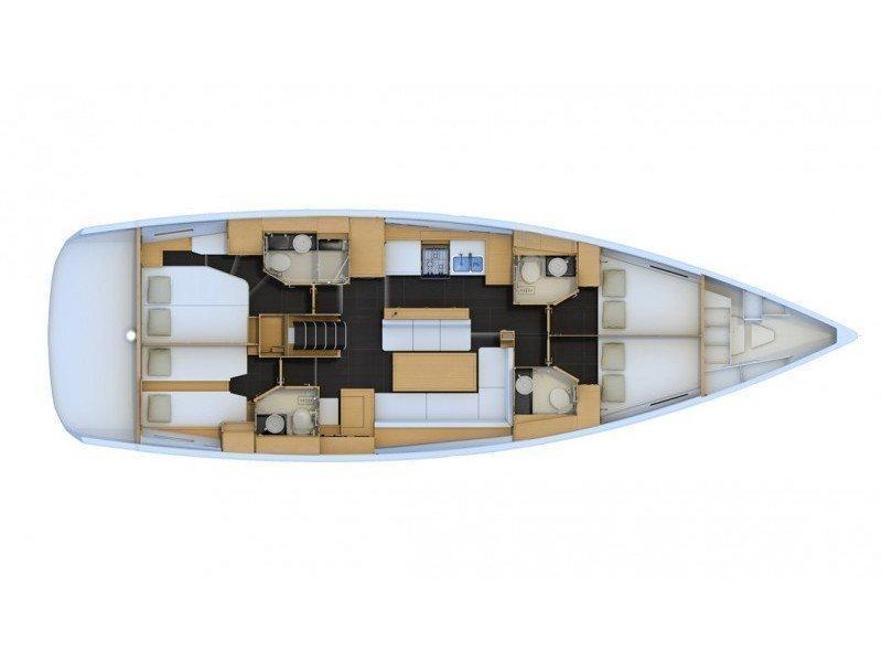 Jeanneau 54 (Scorpius) Plan image - 11