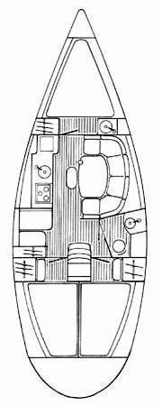 Sun Odyssey 33i (Kiki Kiss) Plan image - 18